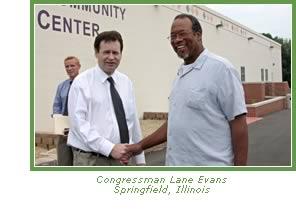 Congressman Lane Evans - Springfield, Illinois