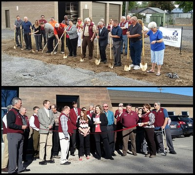 HealthWest Inc In Southeast Idaho Held The Groundbreaking For Their New 7500 Square Foot Site Pocatello During NHCW 2014 At Right Top